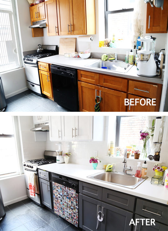 sprucing up the kitchen with a mini makeover... - Love TazaLove Taza